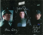 Julian Glover, Michael Culver & Ken Colley STAR WARS Genuine Signed Autographs 10x8 COA 10131